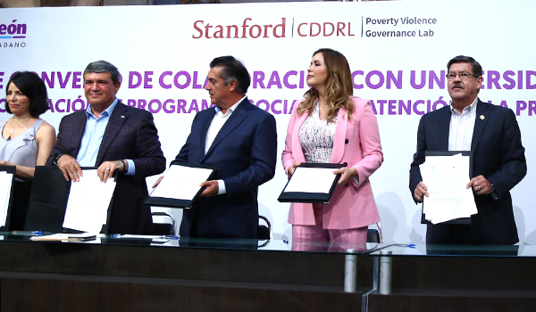 UANL partners with Stanford University in crime prevention