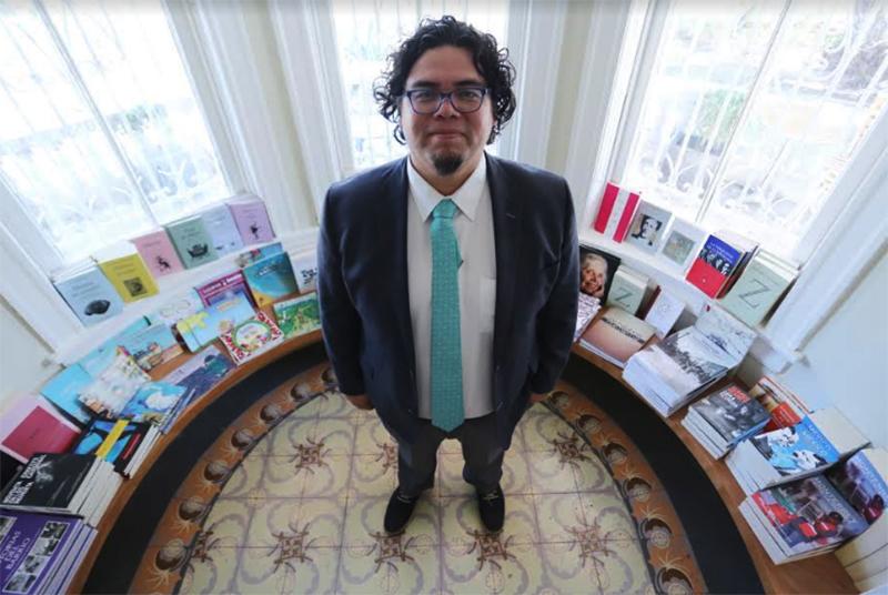Antonio Ramos Revillas, Director de Editorial Universitaria