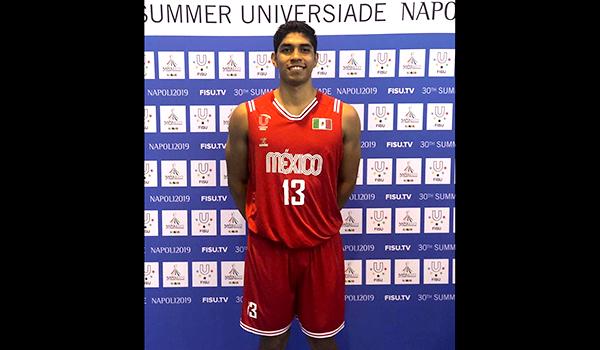Tiene UANL primer basquetbolista en Universiada Mundial 2019