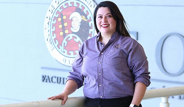 Dulce Morales Elizondo, coordinadora de la maestría