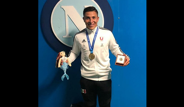 Edgar Ramirez wins gold medal at the 2019 Summer Universiade