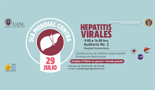 Jose Eleuterio Gonzalez' University Hospital, in coolaboration with the Liver Unit, hold an event on July 29th