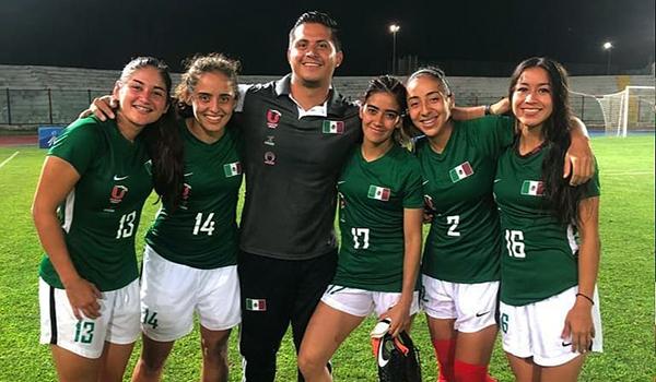 Tigres de futbol asociación femenil en Universiada Mundial 2019