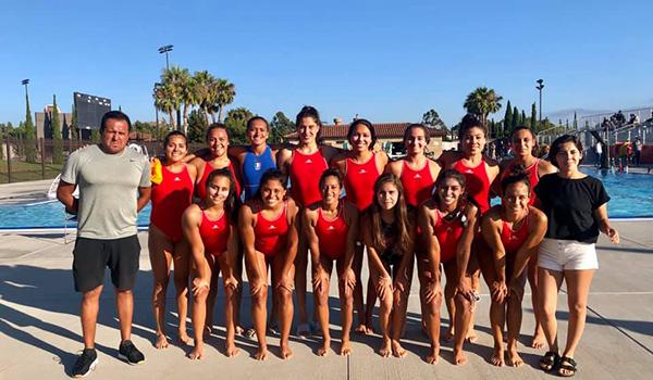 Marcela Ríos encabeza el equipo de waterpolo
