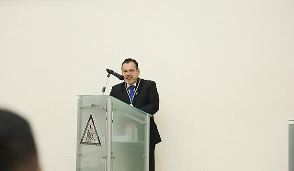 Sóstenes Méndez Delgado, Director de la Facultad de Ciencias de la Tierra