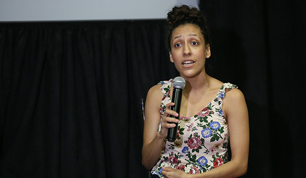 Delia Paulina de León, directora de la compañía Los 250 Mil