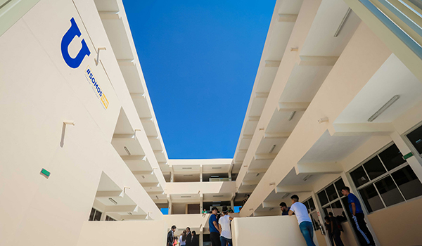 Five schools at Linares Campus will move to the new building, starting this fall semester