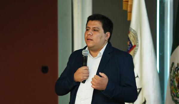 Coordinador de Producción Científica del Conacyt, Julio César Trujillo