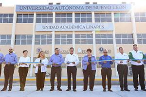 Inaugura UANL edificio en Unidad Académica Linares