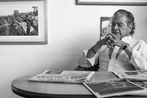 Presentan a Pedro Valtierra, el fotógrafo de la década