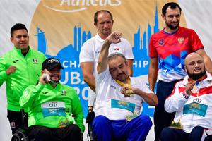 Se acerca Mario Santana a Paralímpicos de Tokio 2020