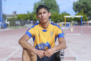 Transforma el deporte la vida de Oziel Sánchez