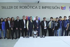 UANL inicia semestre con taller de robótica en Preparatoria 20