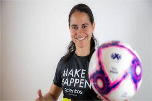 Adriana Águila lleva nutrición deportiva al Atlético de San Luis