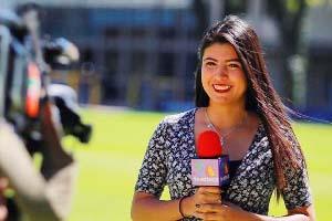Zaritzi Sosa marca su éxito por el mundo del periodismo deportivo