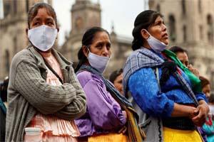 Comunidades indígenas enfrentan al coronavirus con carencias