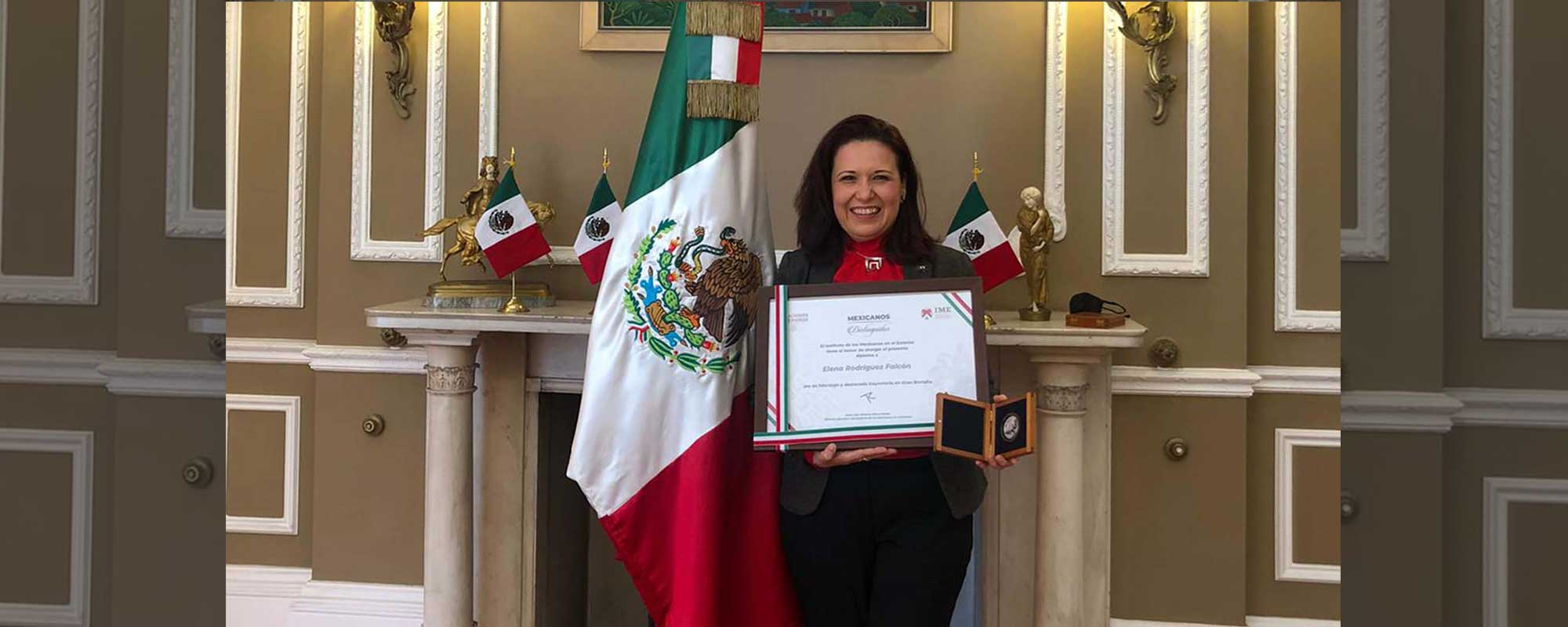 Elena Rodríguez is a graduate of the Universidad Autonoma de Nuevo Leon and an active member of the International Advisory Board of our institution.