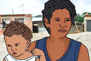 Viven madres migrantes duro viaje hacia EU