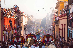 Prepa Álvaro Obregón festeja cultura oaxaqueña