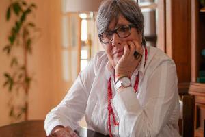 Recibe la Capilla Alfonsina a poetisa Amaral
